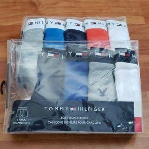 Tommy Hilfiger Boy's boxer briefs size S 6/7